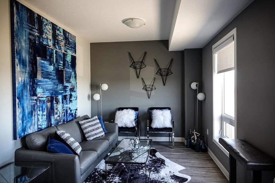 Pareti Grigie: gli abbinamenti di colore per soggiorno e cucina