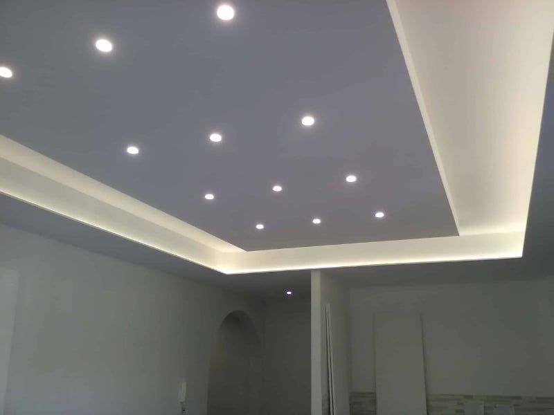 cartongesso soffitto interno