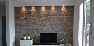 pareti in pietra esterno