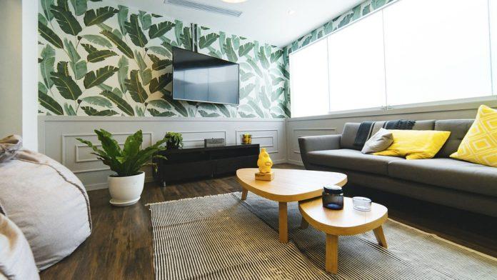 televisore a muro