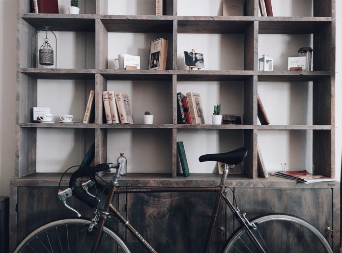 librerie senza schienale